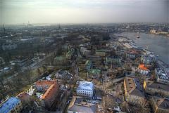 Helsingfors som fåglarna ser henne