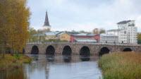 Östra bron från 1700-talet