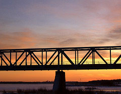 Järnvägsbro över Torneälven