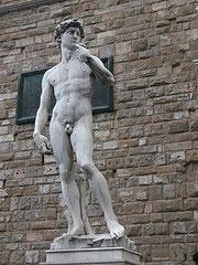 Davidstatyn av Michelangelo