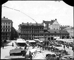 Pubs varuhus i början på 1900-talet