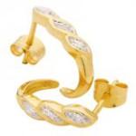 Örhängen i guld – handla billigare guldörhängen online på exempelvis Hedbergs guld