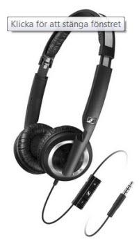 Sennheiser PX 200-IIi hörlurar