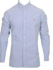 Blå skjorta från Polo Ralph Lauren
