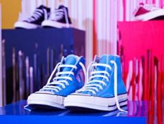 Blå Converse