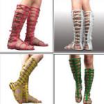 Sandaler – historiskt trendiga sommarskor för dam och herr