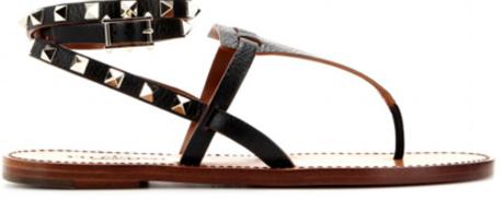Sandal med nitar från Acne