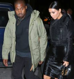 Kanye West i Fjällräven jacka