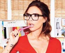 Victoria Beckhams glasögonbågar