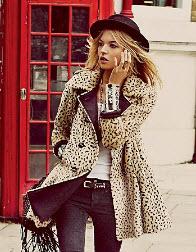 Leopardjackor är populära under våren