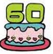60-års tårta