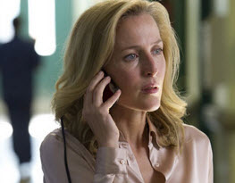 "Gillian Anderson i ""In the fall"""