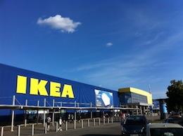 Fasaden IKEA
