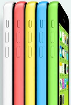 iPhone 5C vit, röd, gul,blå, grön