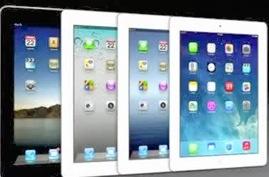 Flera iPad-modeller i rad