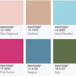 Färger som är inne till våren- hitta rätt färg för vårmodet 2017