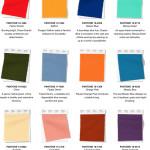 Färger som är inne till våren – hitta rätt färg för vårmodet 2020